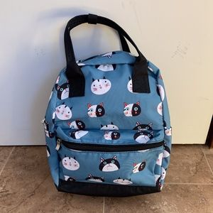 NWOT Cats Backpack